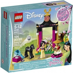 Lego Princess Mulans Training