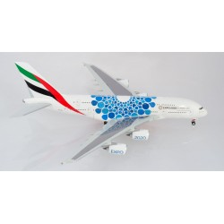 A380 Emirates Expo 2020 blue