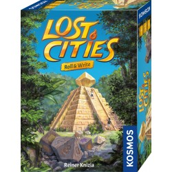 Lost Cities  Roll  Write
