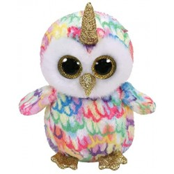 ENCHANTED OWL WITH HORN  BEA