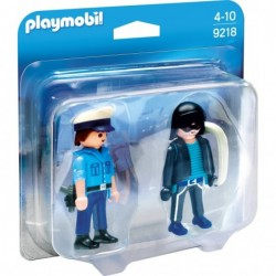 Playmobil Duo Pack Polizist und Langfin