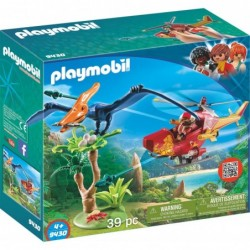 Playmobil Helikopter mit Flugsaurier