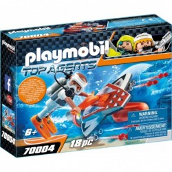 Playmobil SPY TEAM Underwater Wing