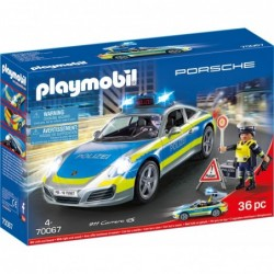 Playmobil Porsche 911 Carrera 4S Polize